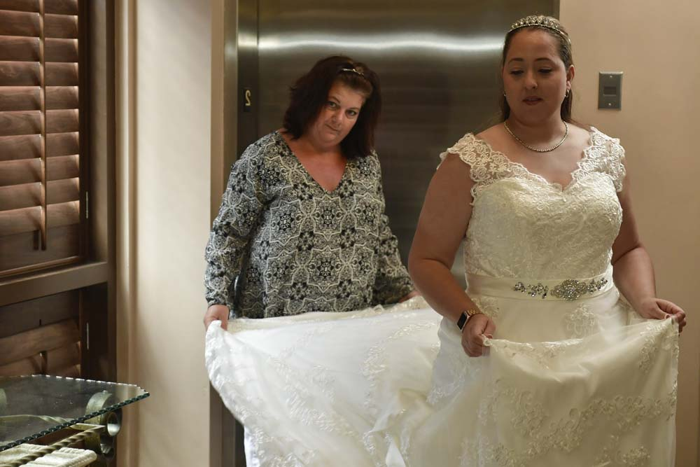Operation wedding gown kicked off the independence day for Donate wedding dress military
