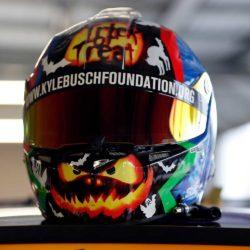Kyle Busch 2018 Halloween Helmet